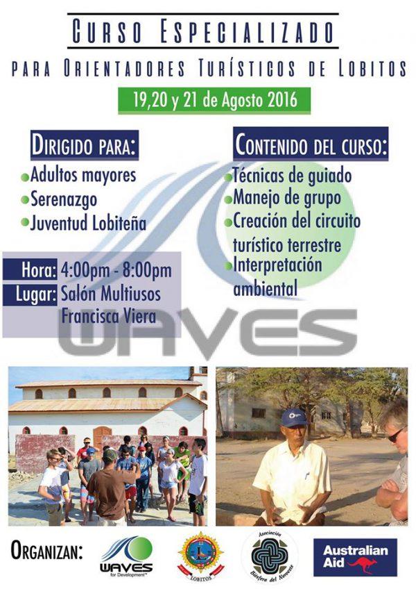 tourism workshop august 2016
