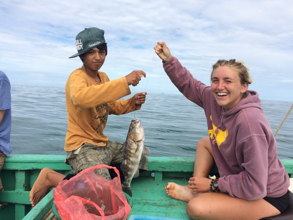 fishing in lobitos peru