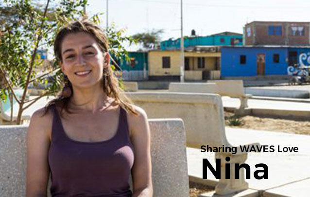 Sharing WAVES Love – Nina