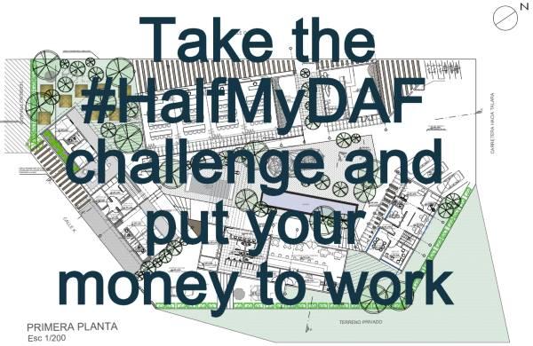 Donor Advised Fund opportunity #HalfMyDAF